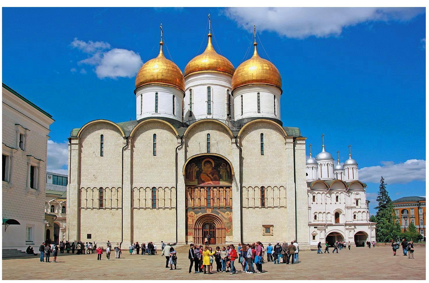 собор московского кремля успенский фото