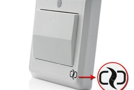 Выключатель HD Spy Camera Light Switch в качестве шпиона.